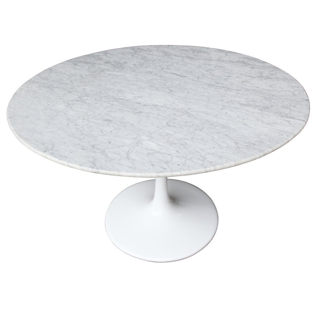 48 Eero Saarinen Style Tulip Dining Table With