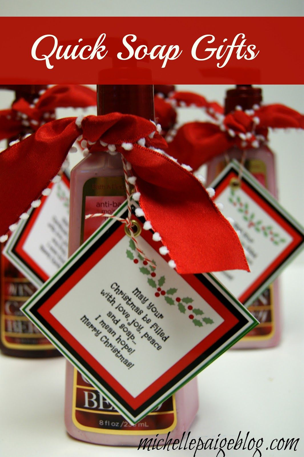 Christmas teacher gift ideas blog