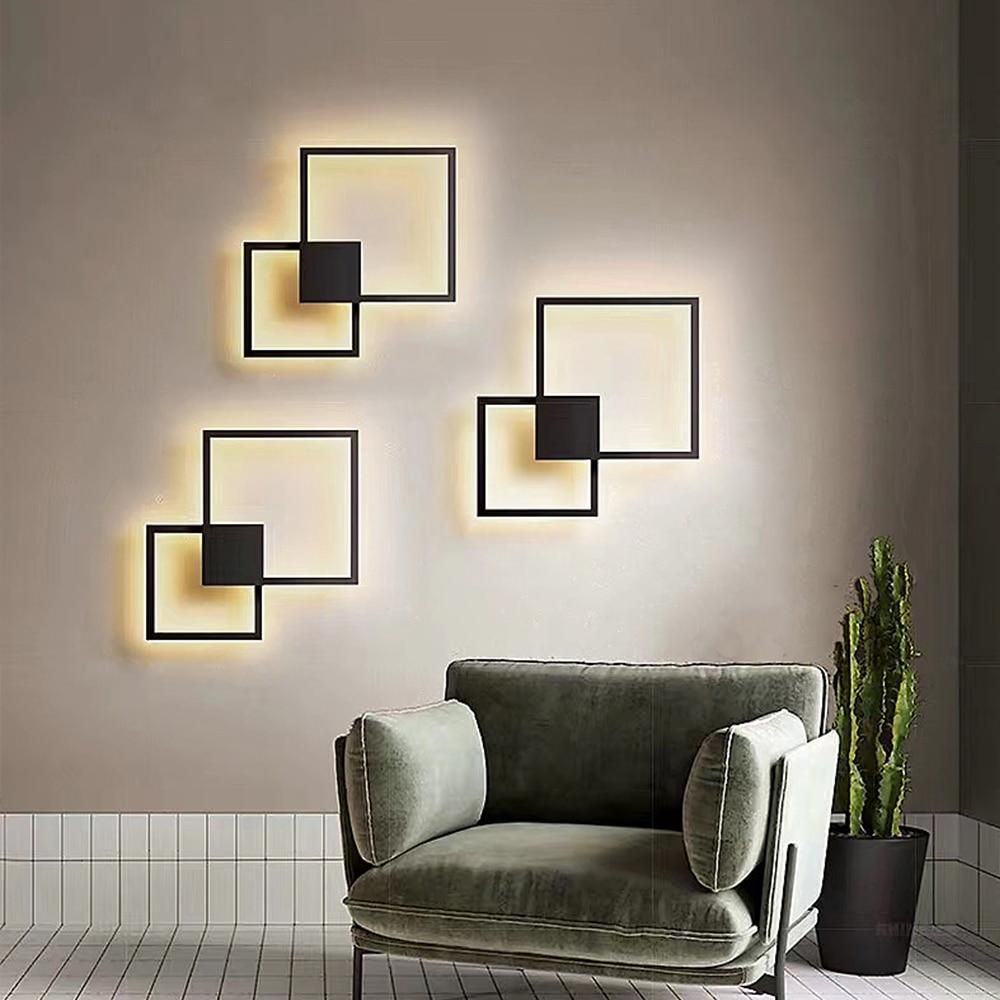 Brick Line Led Wall Light Wall Lights Living Room Wall Lights Bedroom Living Room Lighting