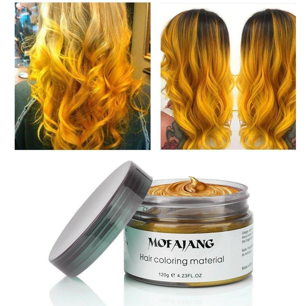Millennial S Unique Styling Product Show Your True Colors This New Temporary Hair Wax Adds Texture Color And Wash Out Hair Color Diy Hair Color Hair Color