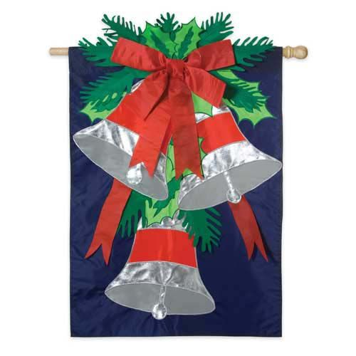 SILVER BELLS FLAGS Taylor Gifts #holiday #holidaydecor #outdoor