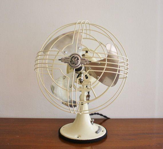 Refurbished Vintage 1940u0027s GE Electric Fan
