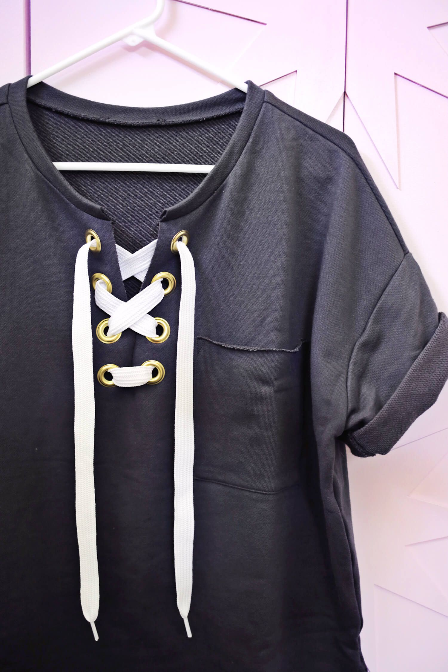 Bust Out High Low Hoodie Crop Top Black Fashion Crop Top Hoodie Clothes [ 2000 x 1454 Pixel ]