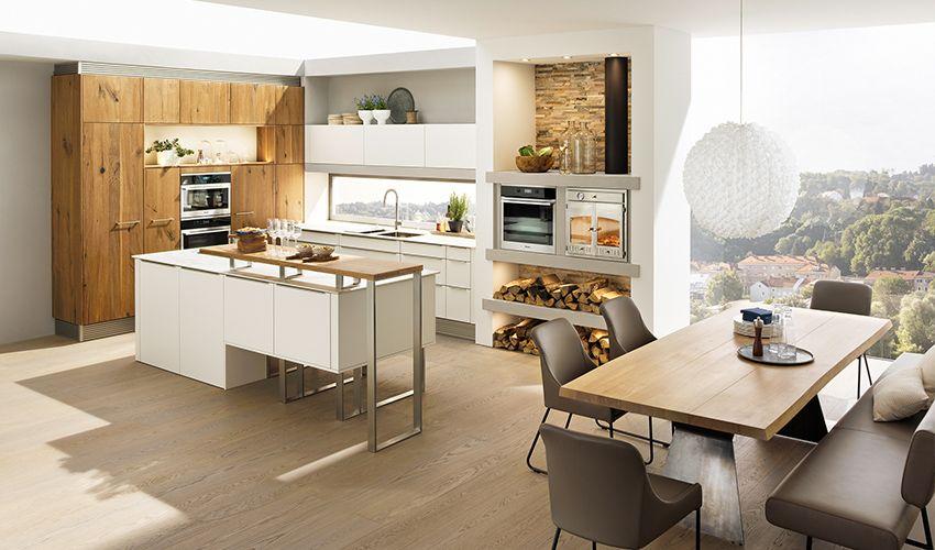 Breitschopf macht ihre Küche → Barrique Alteiche glatt - bilder in der küche