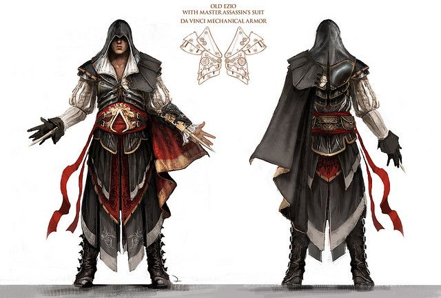 Assassins Creed 2 Concept Art by SWC Designs, via Flickr