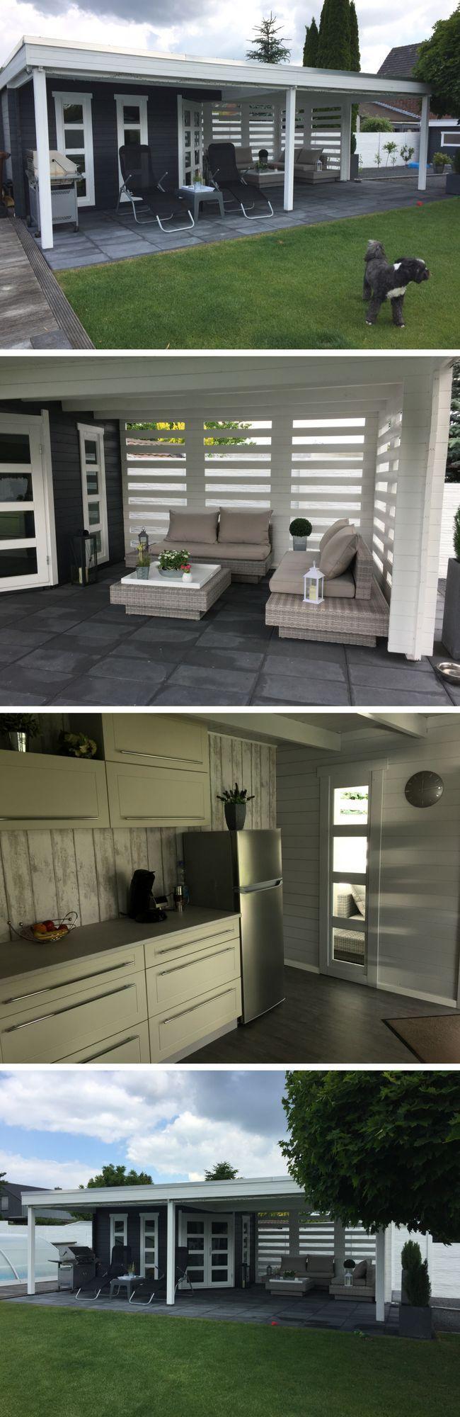 Mit Dem Gartenhaus Panama 40 Konnen Sie Auch Bei Trockenem Regen In