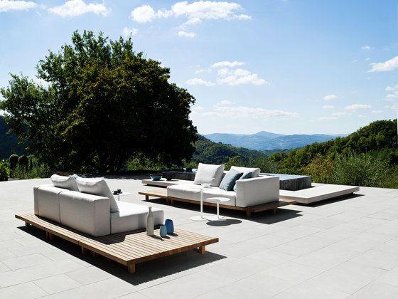 Gartensofas | Garten-Lounge | Vis à Vis Sofa | Tribù. Check it out ...