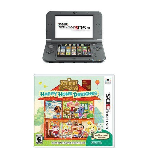 New Nintendo 3ds Xl Black With Animal Crossing Happy Home Designer Nintendo Http Www Amazon Com Dp B018ml0ryw Ref Happy Home Designer Nintendo 3ds Xl 3ds Xl,Logical Vs Physical Database Design