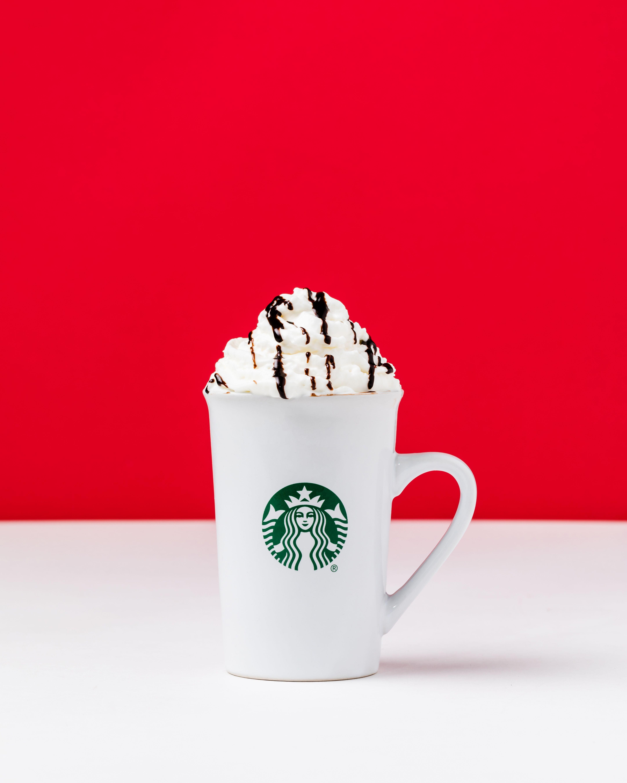 Starbucks Travel Mug Hot Cocoa Gift Set Give