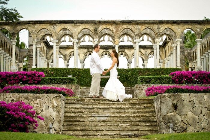 Exclusive One And Only Ocean Club Wedding In The Cloisters