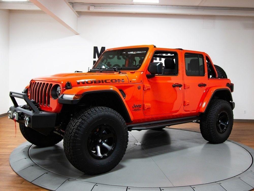 Wrangler Jl Unlimited Rubicon Ozark Mountain Edition Jeep