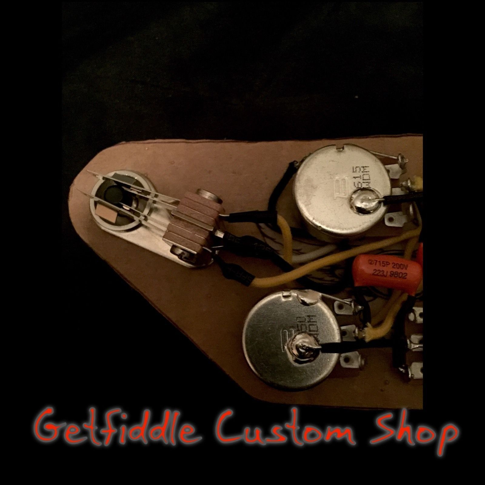 Sg 50's Wiring Harness Gibson Epiphone  022  015 Cap Bourns Pots
