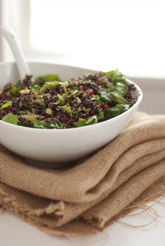 Quinoa-Salat mit Granatapfel