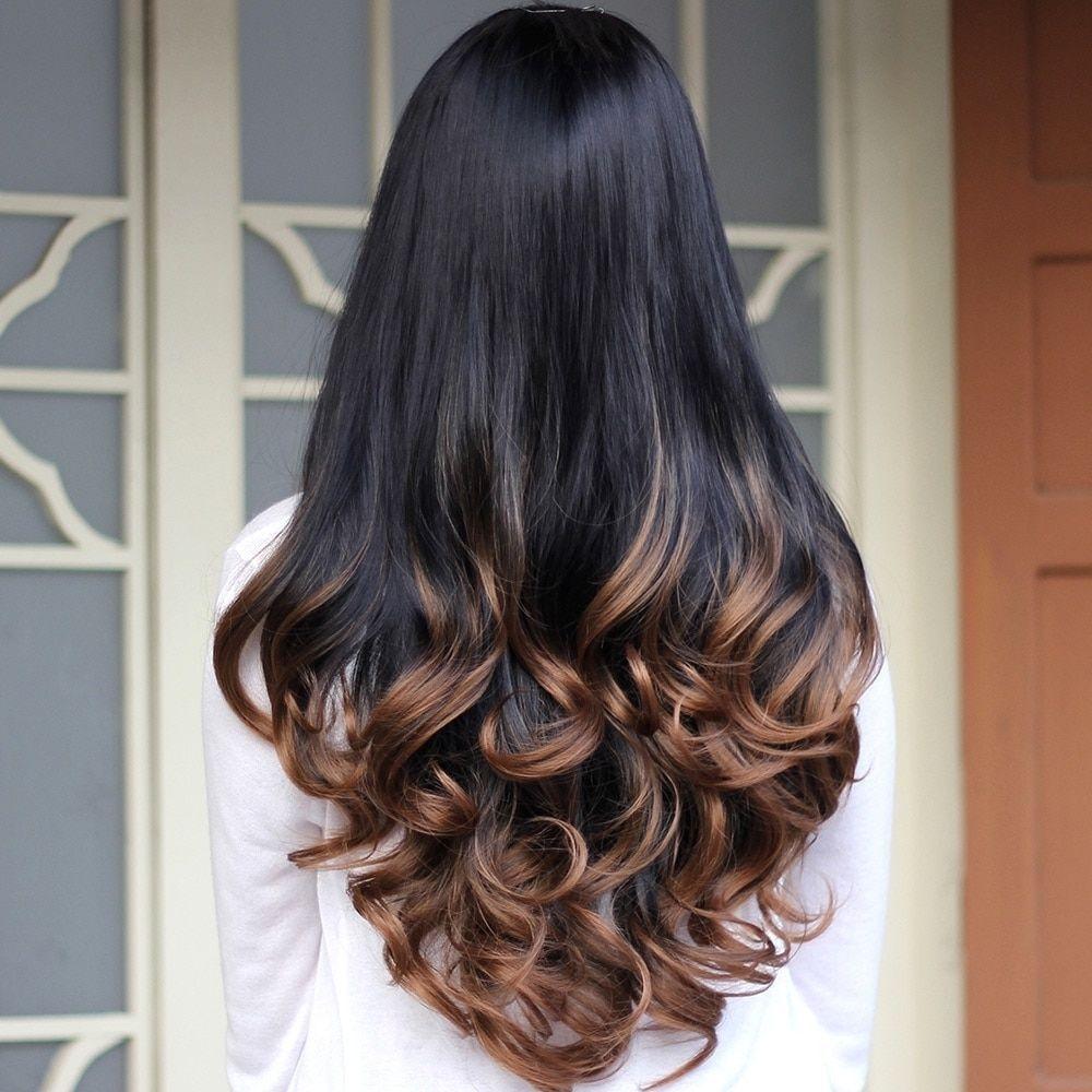 X men haircut long wavy heatresistant synthetic hair wig  synthetic hair wig