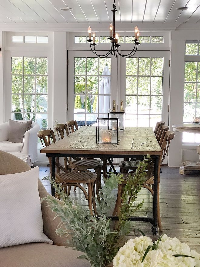 Photo of Casual dining room The dining room opens to a beautiful …, #a # …