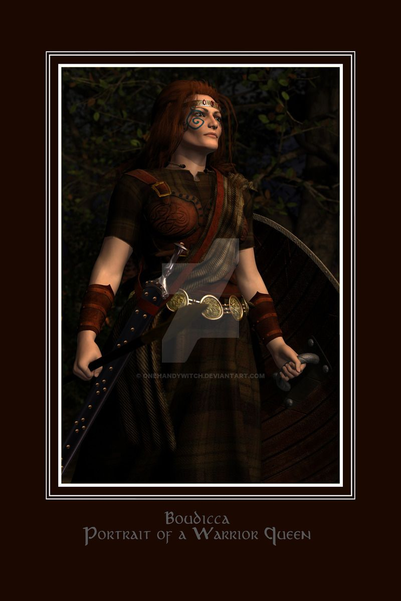 983d6bfbe Boudicca Portrait Of A Warrior Queen by OneHandyWitch on DeviantArt ...