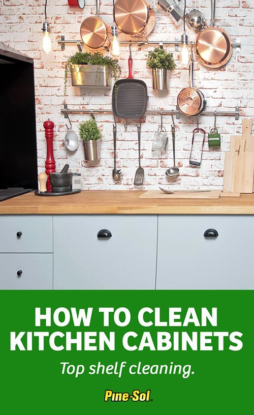 Get Cleaning Tips On How To Remove Grease U0026 Clean Kitchen Cabinets. Learn  How Pine Sol Makes Wood U0026 Laminate Cabinets Look Like New With These Easy  Steps!