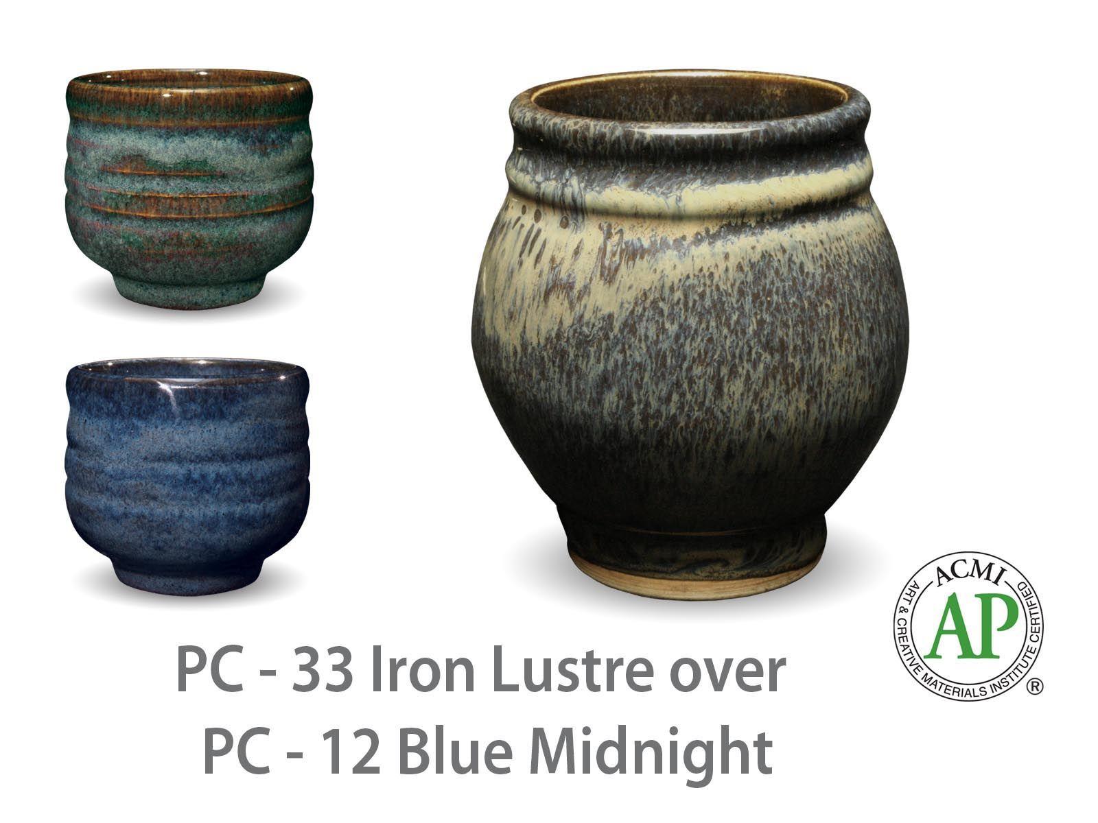 Amaco Potter S Choice Layered Glazes Pc 12 Midnight Blue
