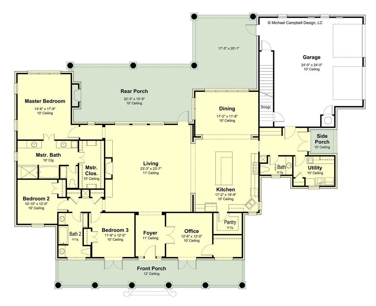 Plan 2998 100 – Michael Campbell Design