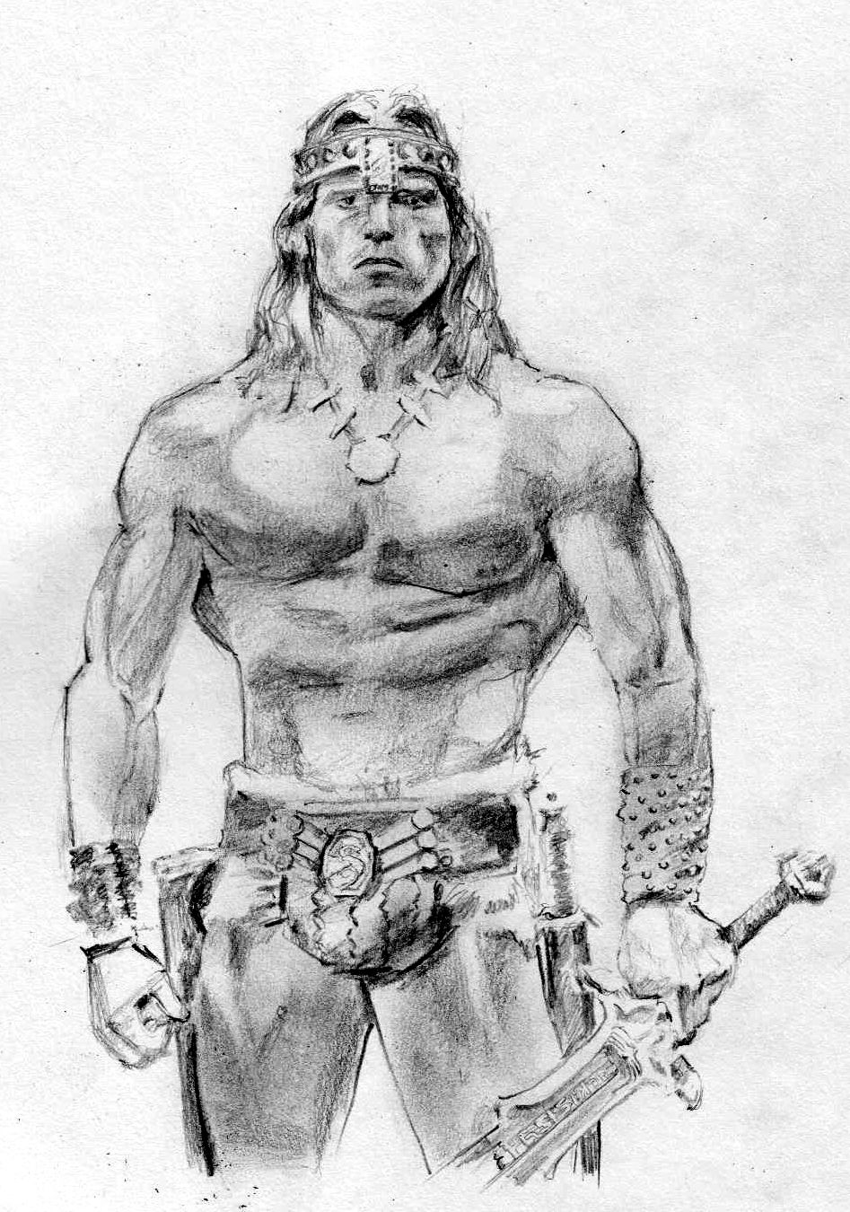 Arnold Schwarzenegger Conan The Barbarian By 80sdisco Deviantart Com On Deviantart Conan The Barbarian Conan The Barbarian 1982 Conan