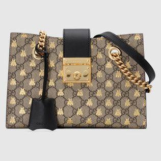 Photo of Gucci Padlock small GG shoulder bag