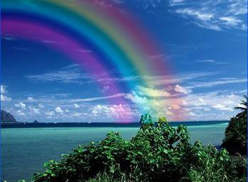 Somewhere over the rainbow!