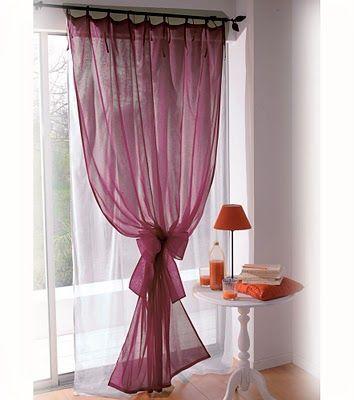 Para que las cortinas queden airosas debes calcular una cantidad ...