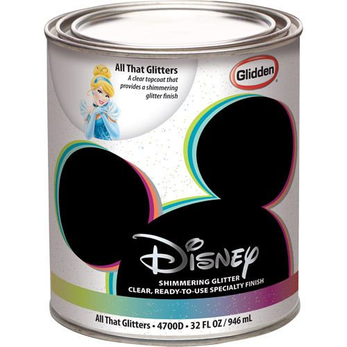 Disney All That Glitters Interior Specialty Paint 1 Quart Paint And Finishes Pinterest