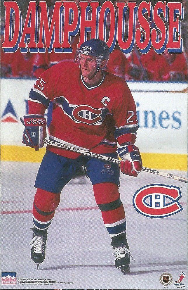 Vincent Damphousse MONTREAL CANADIENS Original Starline Poster MINI Promo 3x5