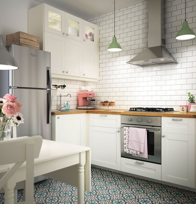 White Kitchen Cabinets For Sale: Savedal White Kitchen - Google Search