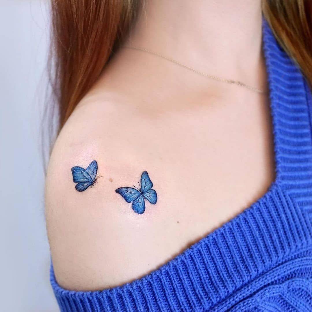 Photo of La mejor colección de mariposas tatuajes que hayas visto este hermoso insecto es muy atractivo