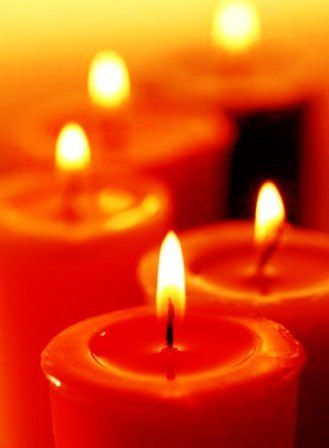 Tangerine With Images Orange Candle Candles Candle Magic