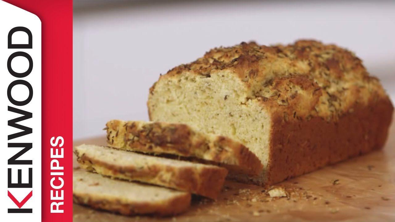 Cumin fennel corn bread recipe demonstrated with