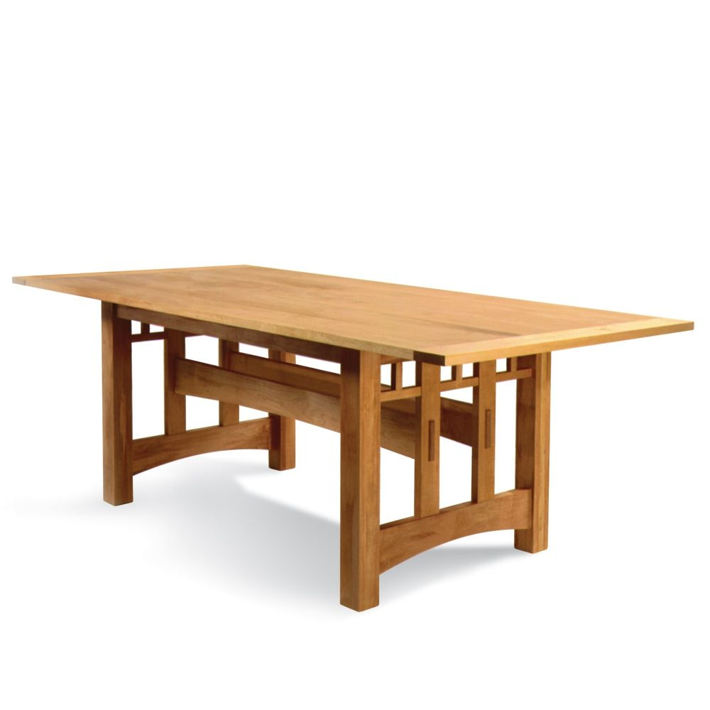 Mission Trestle Table Plans: Dinning Table In 2019