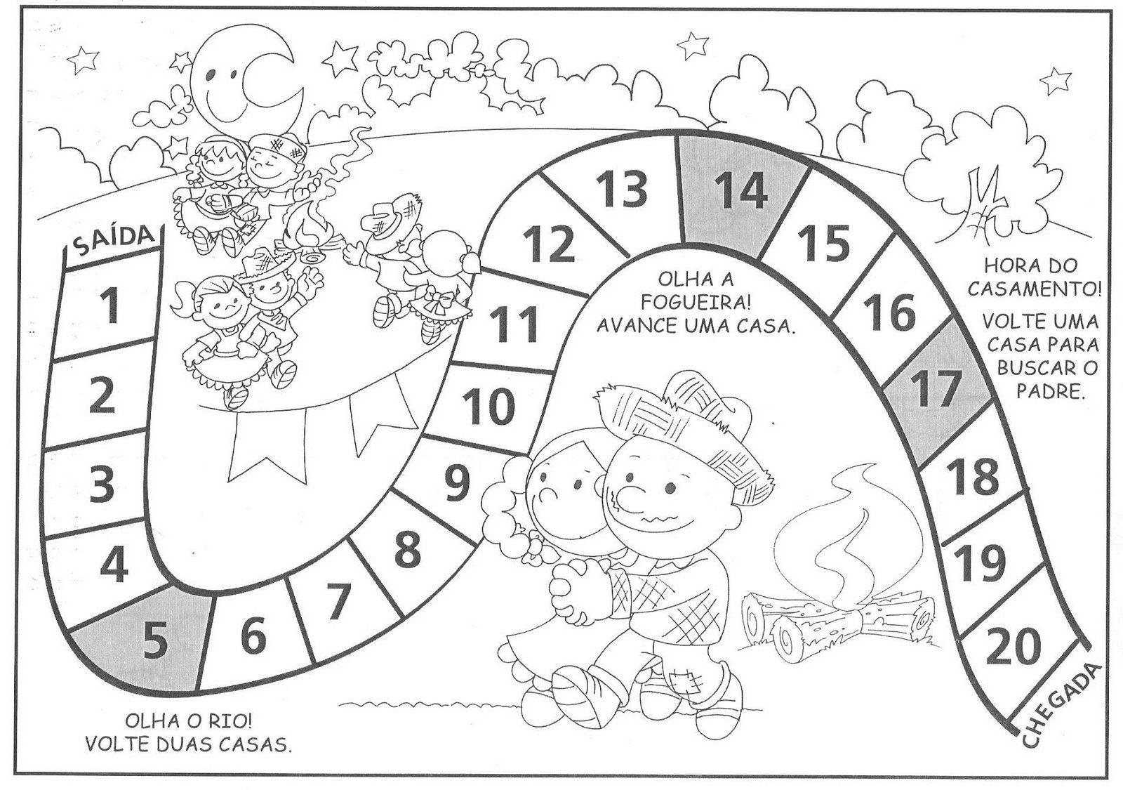 Jogos De Trilha Atividades Para Educacao Infantil Jogos