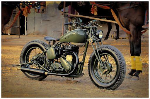 """Rajputana Custom's 1942 BSA M20 -""""Laado"""""""