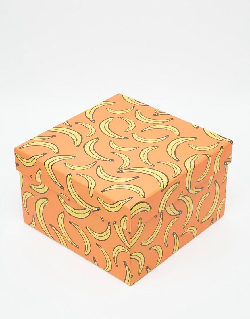 Paperchase Banana Gift Box