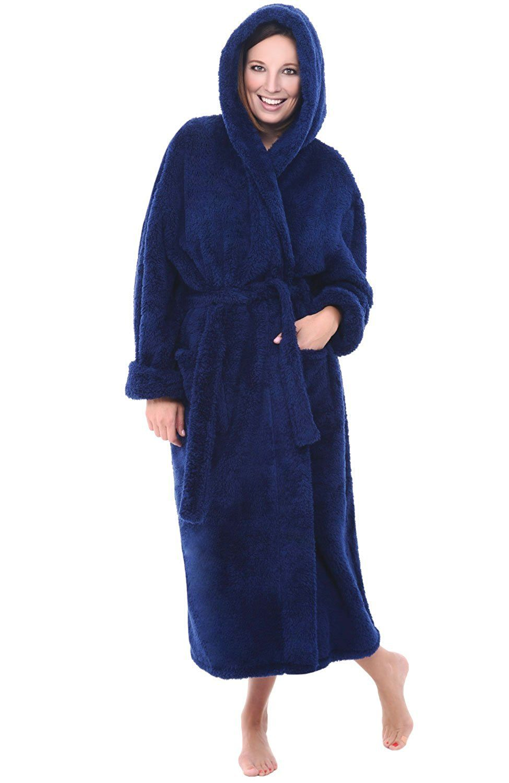 bbd5448033 Alexander Del Rossa Womens Fleece Robe