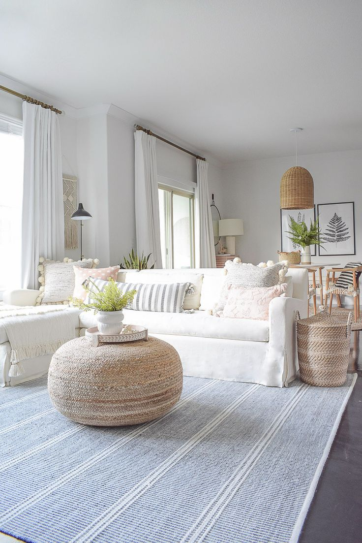 Photo of Summer Your Home Living Room Tour | ZDesign At Home