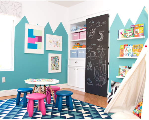 Habitaciones infantiles 7 paredes originales y f ciles for Paredes habitacion infantil
