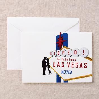 Eloped in las vegas greeting cards pk of 20 vegas eloped in las vegas greeting cards pk of 20 m4hsunfo