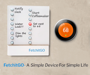 Reset your #NEST #thermostat with FetchitGO IoT Remote on
