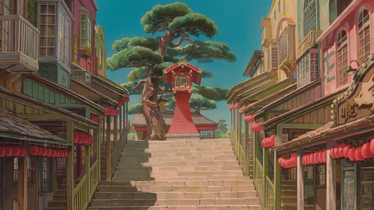 Mobile And Desktop Wallpaper Hd Aesthetic Desktop Wallpaper Spirited Away Wallpaper Studio Ghibli Background