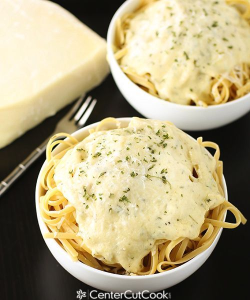 Creamy Alfredo Sauce for any meal you want! Pasta, spaghetti squash, veggies and more will be delicious with this!