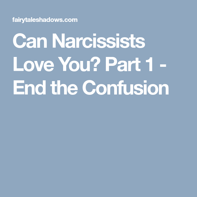 What happens to narcissists in the end