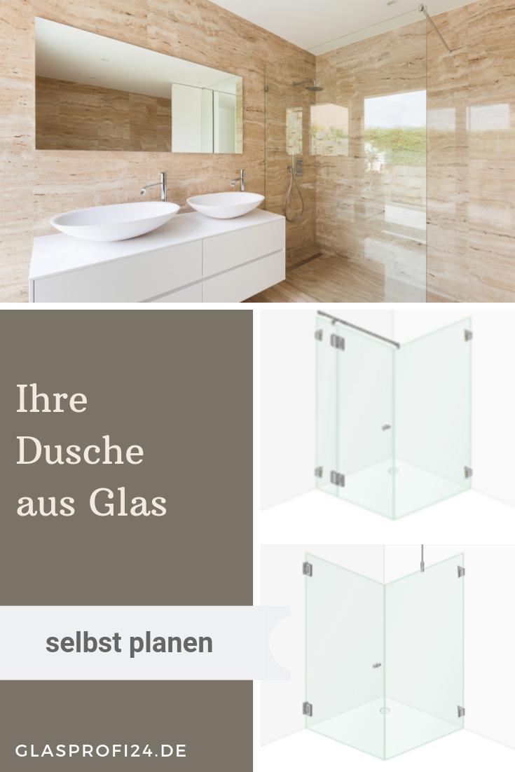 Ihre Dusche Aus Glas In 2020 Dusche Traumdusche Neues Badezimmer