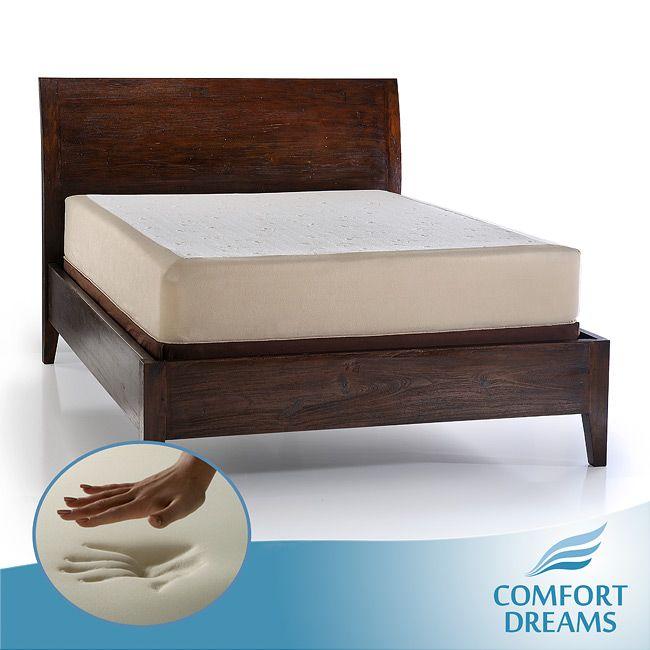 Comfort Dreams Select A Firmness 11 Inch Queen Size Memory Foam M