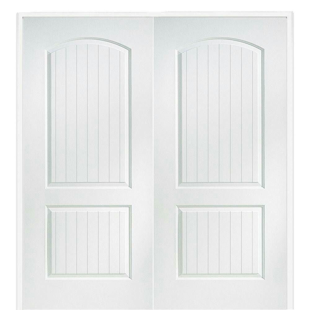 60 X80 Solid Core Primed Double Door At Home Depot For 386 51 Prehung Interior Doors Double Doors Interior French Doors Interior