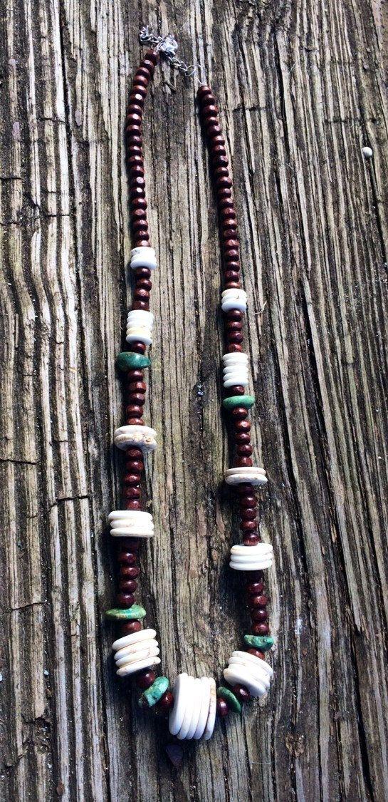 Native inspired necklace 10 by EMZJ on Etsy