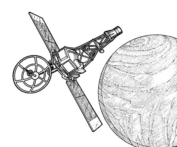 Space Travel Satellite Orbit Coloring Pages Best Place To Color Space Travel Coloring Pages Satellite Orbits